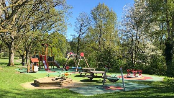Åhusparkens lekplats