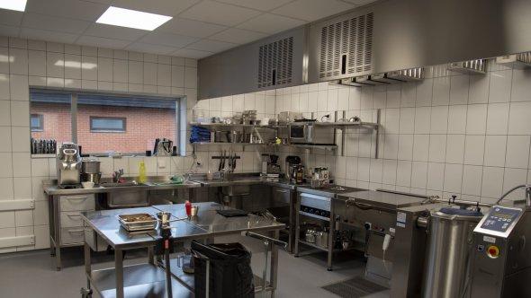 En bild på förskolans kök.
