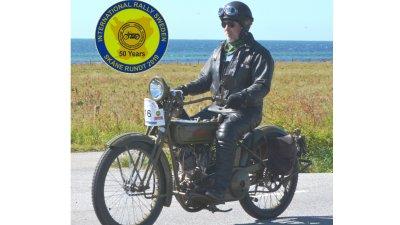 Veteranmotorcykelrally till Minnenas museum