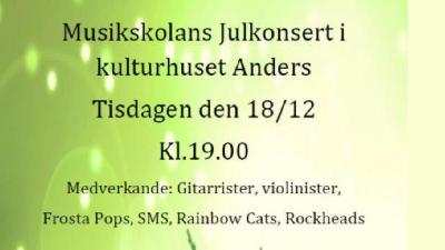 Julkonsert på Kulturhuset Anders
