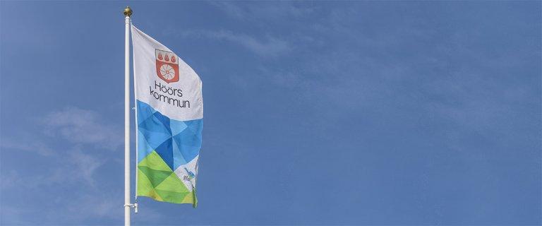 Höörs kommuns flagga