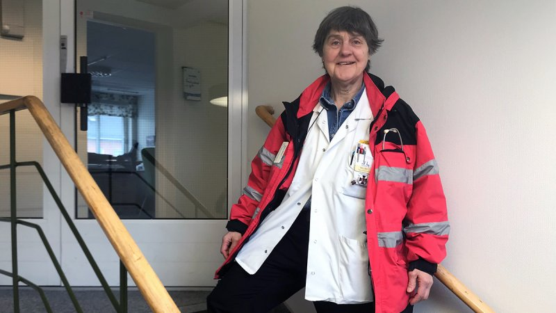 Nattsjuksköterska Maj-Britt