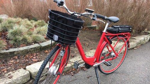 Elcykel redo för vinteruppdrag