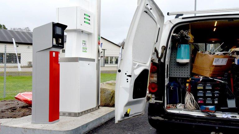 biogaspump monteras