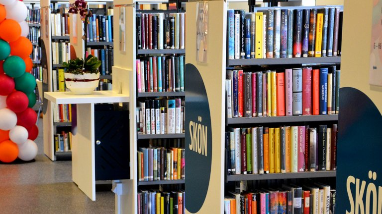 Interiör, Höörs bibliotek