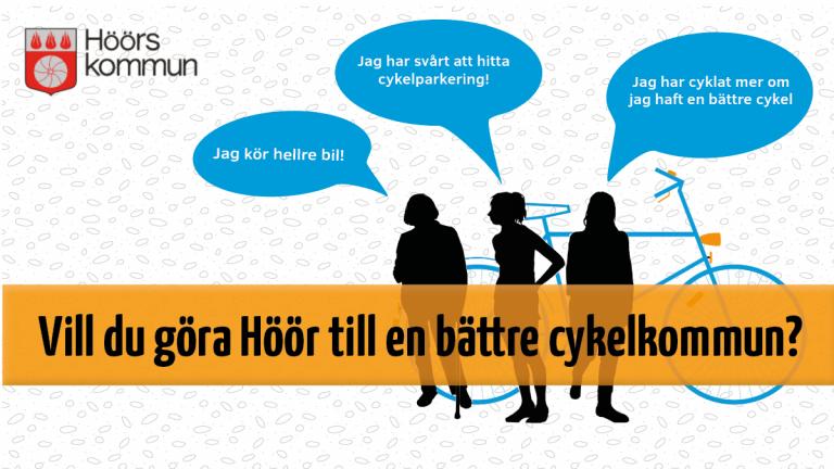 Vill du göra Höör till en bättre cykelkommun?