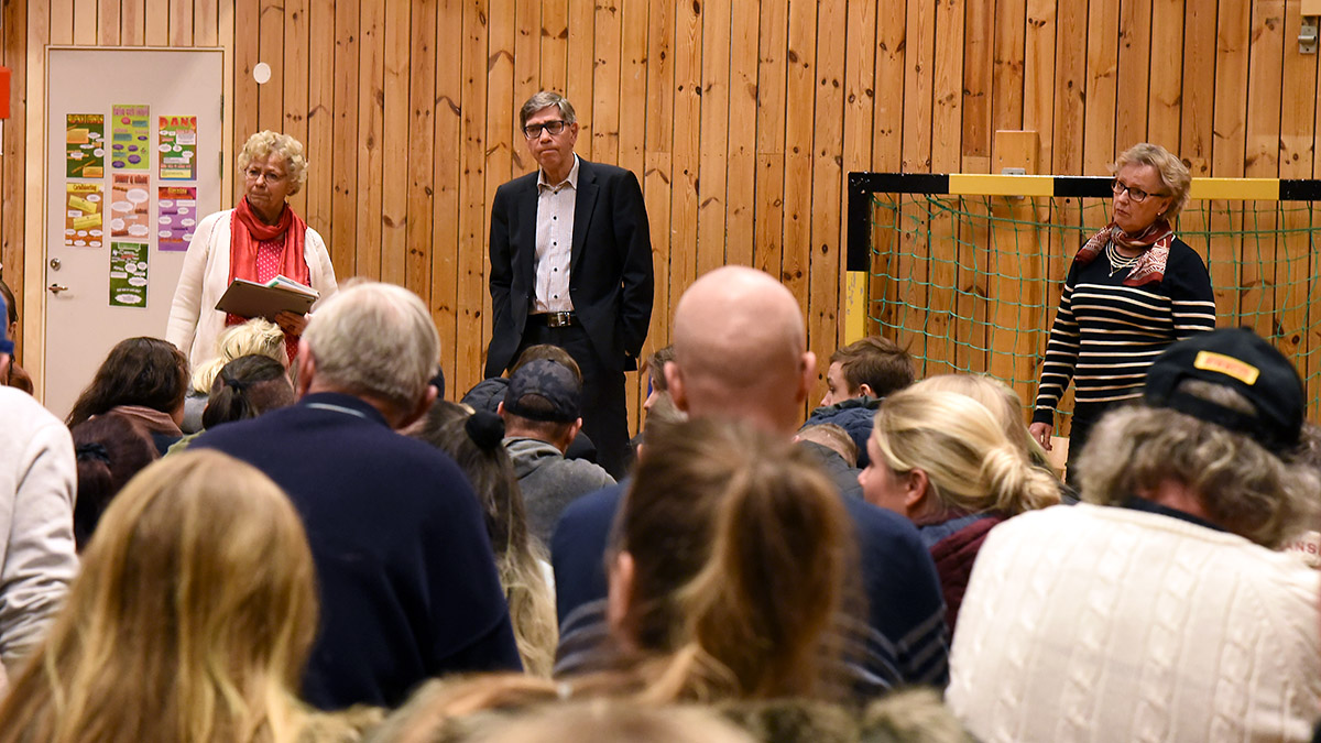 Skolmöte i Tjörnarp 20 mars 2018