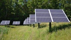Kraftig ökning av solceller