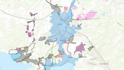 Höörs kommun på karta