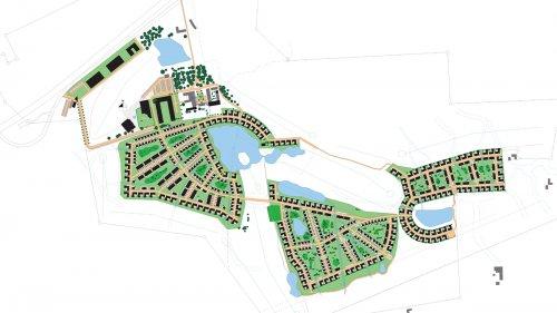 Nytt bostadsområde över kommungränsen