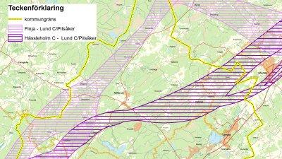 Trafikverket presenterar möjliga sträckningar för ny stambana Hässleholm-Lund, som berör Höörs kommun
